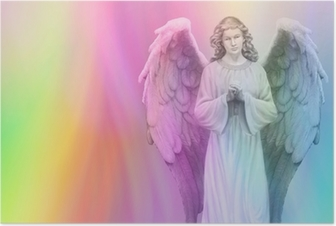 Póster Rainbow Angel 88