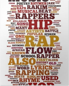 Póster Rap and Hip Hop Music