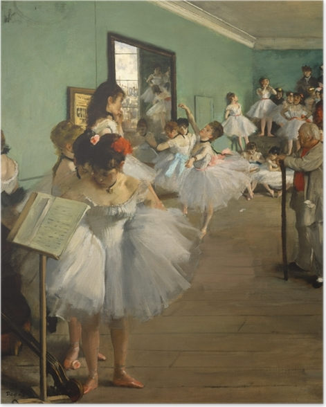 Póster The Dance Class - Impressionismo
