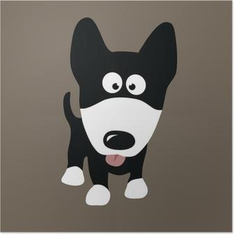 Póster Wolf Dog