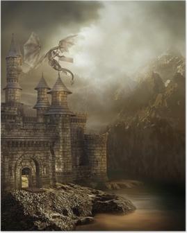 Póster Zamek w górach