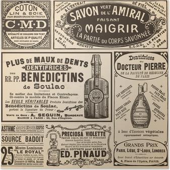 Poster Fransız reklamlar