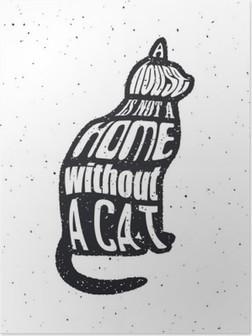 Poster Kediler gibi doesnt bir adama asla güvenme.