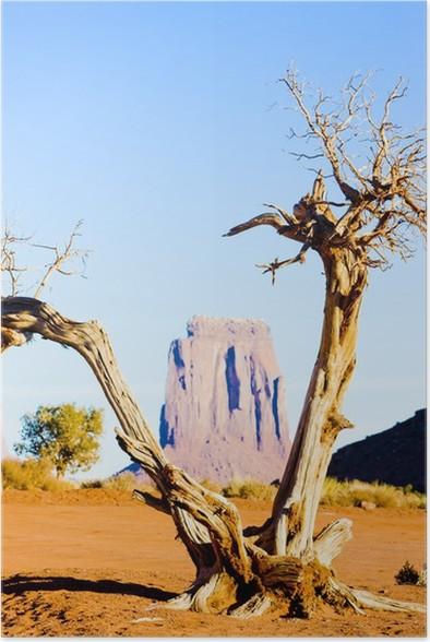 Poster Kuzey Pencere, Monument Valley NP, Utah-Arizona, ABD - Amerika