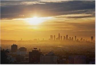 Poster Los Angeles gündoğumu