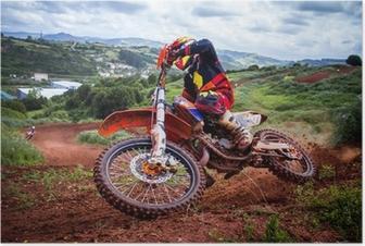 Poster Motocross Rider