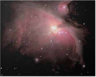 Poster Orion bulutsu M42