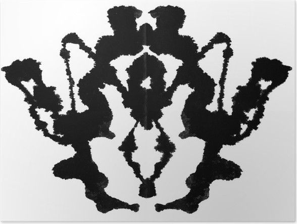 5th card in the Rorschach Inkblot Test