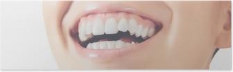 Poster Sorriso denti donna felice
