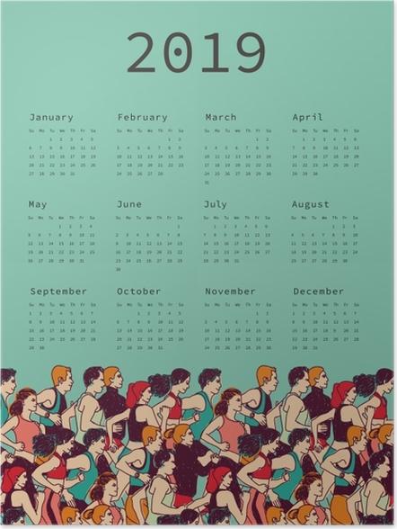 Poster Takvim 2019 – Koşma -