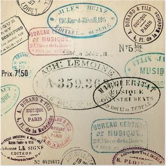 Poster Vintage pulları arka plan