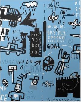 Граффити Poster