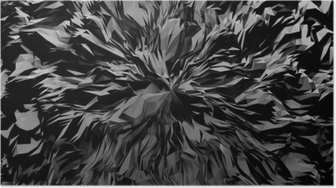 Poster 3d abstrait