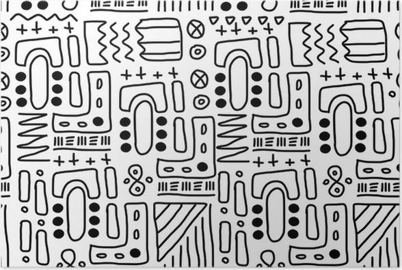 Aboriginal art - doodle art Poster • Pixers® • We live to change