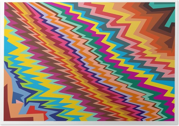 abstract art colors pop art poster pixers we live to change