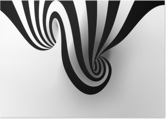 Abstract spiral with empty space Poster