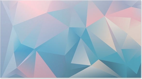 Abstract Triangle Background Light Blue Pink And White Colour