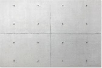 Poster Abstrait arrière-plan, gris mur de ciment
