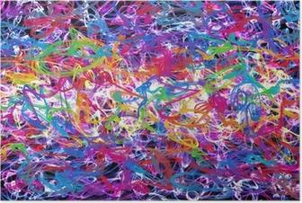 Poster Abstrakt graffiti