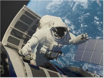 Poster Accès à l'espace.