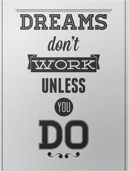 Poster Affiche de motivation