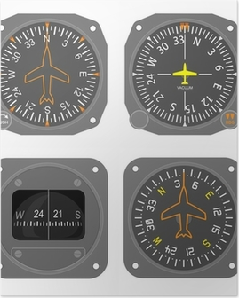 Aircraft instruments set #4