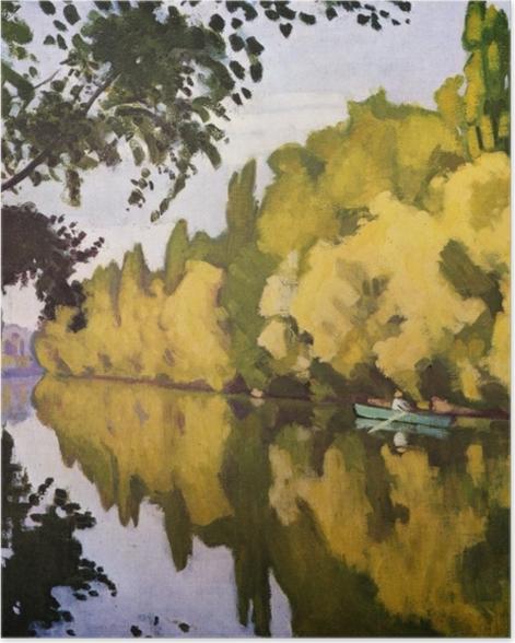 Poster Albert Marquet - La Varenne Saint- Hilaire, la barque - Reproductions