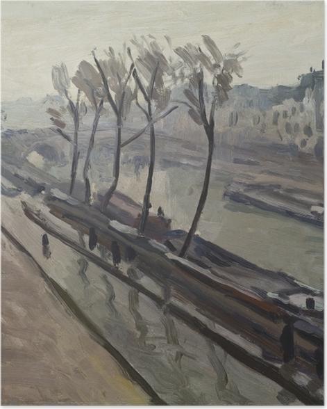 Poster Albert Marquet - Le quai des Grands-Augustins sous la pluie - Reproductions
