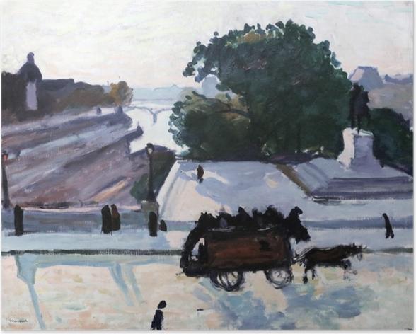 Poster Albert Marquet - Paris. Le Pont Neuf en été. - Reproductions