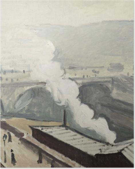 Poster Albert Marquet - Quai Saint-Michel avec fumée - Reproductions