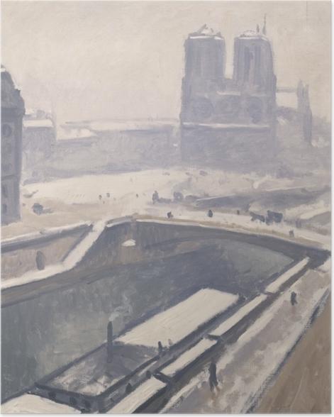Poster Albert Marquet - Vue de Notre-Dame - Reproductions