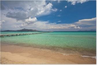 Alcudia beach, Majorca Poster