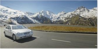 Poster Alpen dur