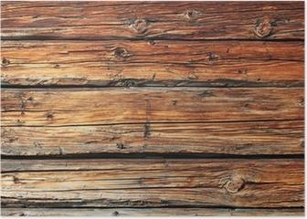 altes Holz Poster