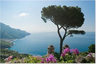 Amalfi coast view Poster
