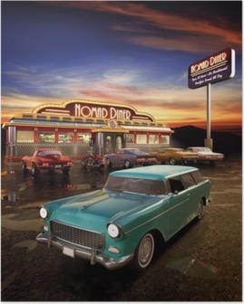Poster American Diner