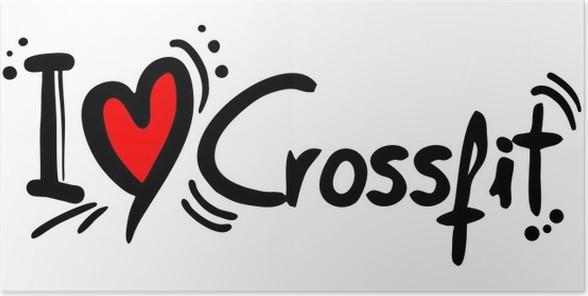 Póster Amor crossfit • Pixers® - Vivimos para cambiar