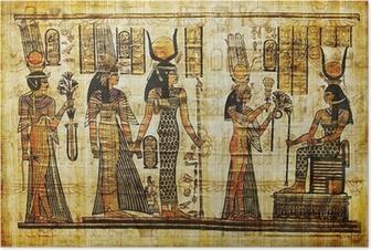 ancient egyptian parchment Poster