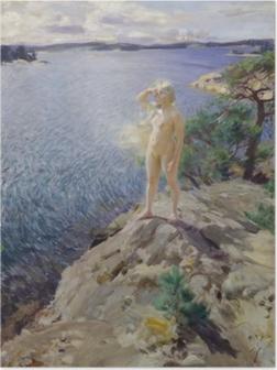 Poster Anders Zorn - Dans les Skerries