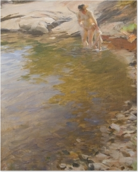 Anders Zorn - Morning Toilet Poster