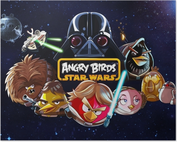 Poster Angry Birds - Thema's
