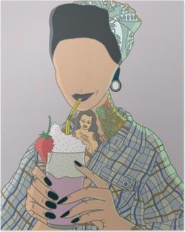 Poster Anonieme vrouw - Ricardo X Parker