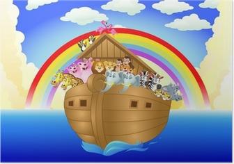 Poster Arche de Noé
