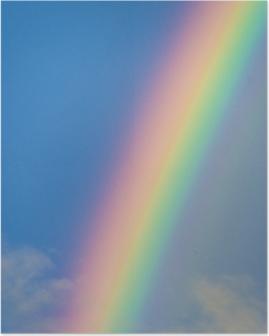 Póster Arco iris