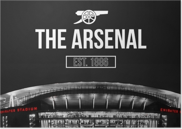 Arsenal F C Poster Pixers We Live To Change