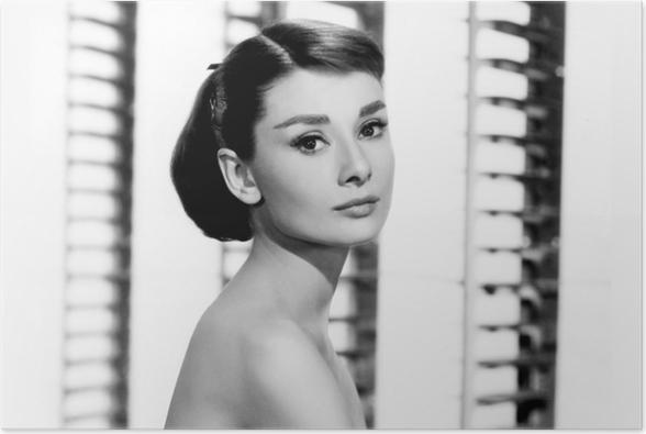 Audrey Hepburn Poster • Pixers® • We live to change
