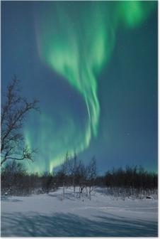 Poster Aurora Borealis in Zweden