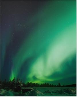 Poster Aurora Borealis (Noorderlicht)