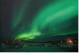 Aurora Borealis / Northern Lights Poster