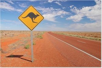 Australian endless roads Poster